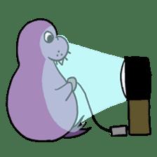Purple Walrus sticker #2147838