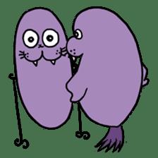 Purple Walrus sticker #2147853