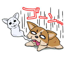 Kansai dialect  Corgi raboo sticker #2147911