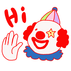 Clown old man