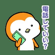 ORANGE PENGUIN sticker #2148784