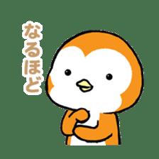 ORANGE PENGUIN sticker #2148785