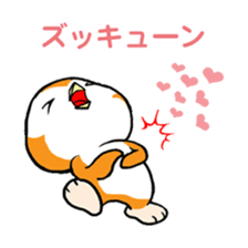 ORANGE PENGUIN sticker #2148788