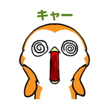 ORANGE PENGUIN sticker #2148801