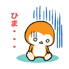 ORANGE PENGUIN sticker #2148808