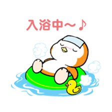 ORANGE PENGUIN sticker #2148810