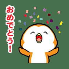 ORANGE PENGUIN sticker #2148818