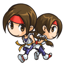THE KING OF FIGHTERS vol.2 sticker #2149653