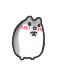cutie cutie hamsters sticker #2150588