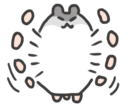 cutie cutie hamsters sticker #2150598