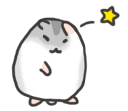 cutie cutie hamsters sticker #2150599