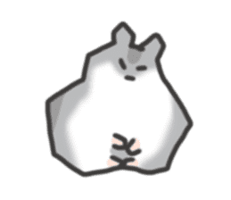 cutie cutie hamsters sticker #2150602