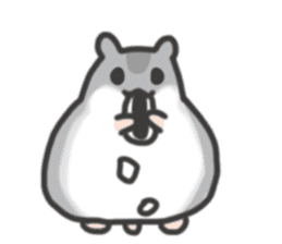 cutie cutie hamsters sticker #2150617