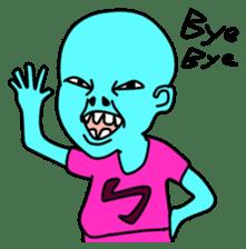 Alien baby(E.T baby) sticker #2151108