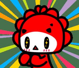 Monster Little - Ziqi sticker #2152432