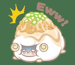 Hitsuji Gohan: Yummy Cute Sushi Sheep sticker #2153160