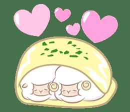 Hitsuji Gohan: Yummy Cute Sushi Sheep sticker #2153161