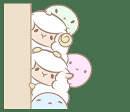 Hitsuji Gohan: Yummy Cute Sushi Sheep sticker #2153162
