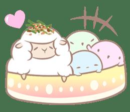 Hitsuji Gohan: Yummy Cute Sushi Sheep sticker #2153165