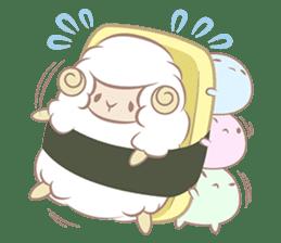 Hitsuji Gohan: Yummy Cute Sushi Sheep sticker #2153168