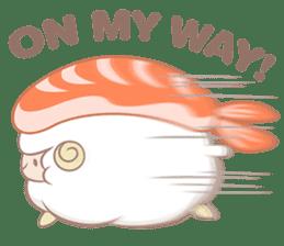 Hitsuji Gohan: Yummy Cute Sushi Sheep sticker #2153171