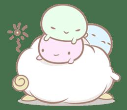 Hitsuji Gohan: Yummy Cute Sushi Sheep sticker #2153175