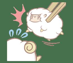 Hitsuji Gohan: Yummy Cute Sushi Sheep sticker #2153180