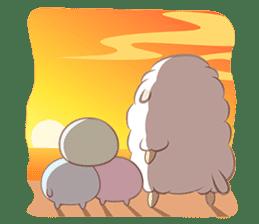 Hitsuji Gohan: Yummy Cute Sushi Sheep sticker #2153184