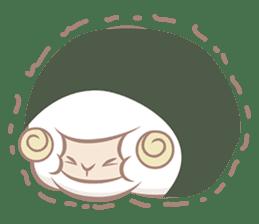 Hitsuji Gohan: Yummy Cute Sushi Sheep sticker #2153187