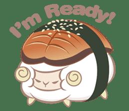 Hitsuji Gohan: Yummy Cute Sushi Sheep sticker #2153191