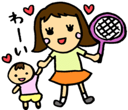 Let's play tennis! sticker #2153720