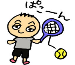 Let's play tennis! sticker #2153732