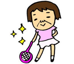 Let's play tennis! sticker #2153733