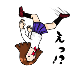 High school girl fight sticker #2155335