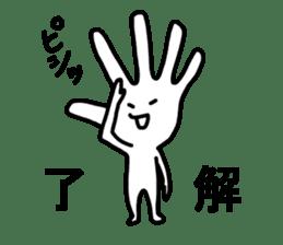 tenohirakun sticker #2156315