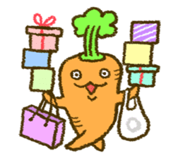 The carrot sticker #2156401
