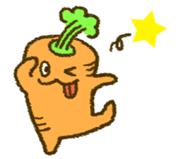 The carrot sticker #2156402