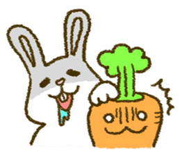 The carrot sticker #2156406