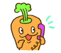 The carrot sticker #2156422