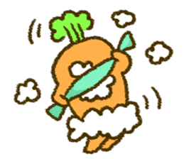 The carrot sticker #2156431