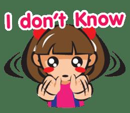 Moji (English) sticker #2158648