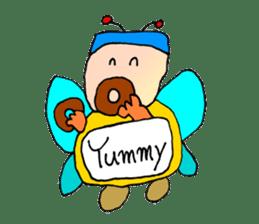 Plump fairy sticker #2159526