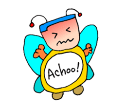 Plump fairy sticker #2159535