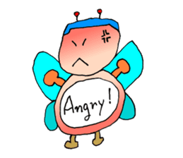 Plump fairy sticker #2159542