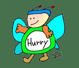 Plump fairy sticker #2159546