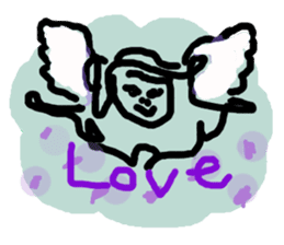 Rich feelings -you are Angel of emotions sticker #2160285
