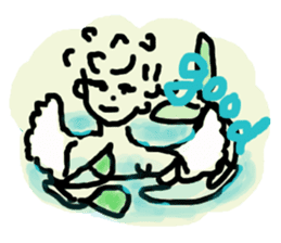 Rich feelings -you are Angel of emotions sticker #2160289