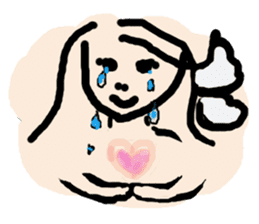 Rich feelings -you are Angel of emotions sticker #2160304