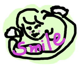 Rich feelings -you are Angel of emotions sticker #2160306