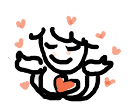 Rich feelings -you are Angel of emotions sticker #2160309